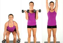 Strong is the New Skinny / My weight lifting motivation board!  / by Rebecka Durflinger