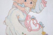 Cross-stitch---Precious Moments--Wedding