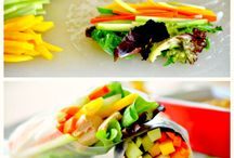 Spring Recipe Ideas! / The weather's warming up... let's lighten up!