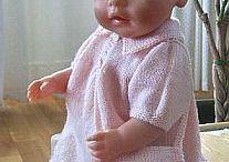 doll-knitting-patterns / Strikkeoppskrifter fra Målfrid Gausel