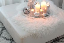 Soft silvers home styling decor