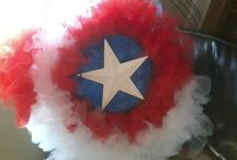 austins superhero party / avengers and other super heroes themed party / by Lilly McGuire