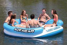 Inflatable Island float