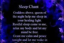 sleep chants