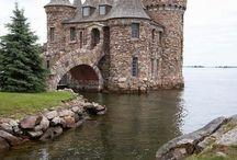 Décoration et lieux / Châteaux, décors enchanteurs, lieux suprenants
