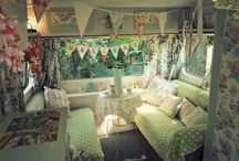 Glamping / Glamorous, sophisticated, lovely, prettified camping in the great outdoors.