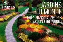 Jardins Du Monde / Breathtaking Gardens Around The World / Les plus beaux jardins de monde / The most beautiful gardens in the world  / by SIMA Canada