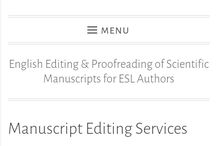 Proofreading & copy-editing