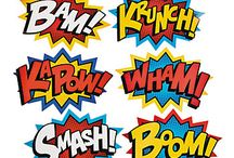 Media Coursework Superhero Posters