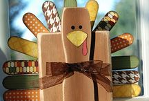 Thanksgiving/Fall Crafts / by Normie Johnson