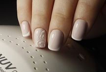 Nail art - nude shades