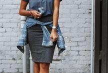 Saia Lápis / Look's com saia lápis, apostando na tendência gringa!
