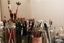 Art supplies / All those amazing tools that make artist life so much easier and sometimes are the subject matter of their art