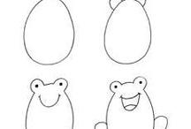 hogyan rajzoljunk / rajzolás lépésről lépésre