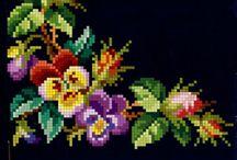 panseluțe si alte flori