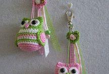 Llaveros a crochet / by Andrea S