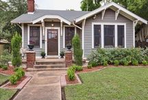 house exteriors / by Lindsey
