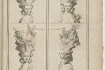 Costumes Francois pour les Coeffures depuis 1776