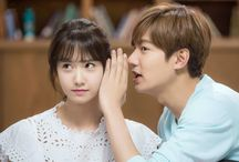 Im Yoona & Lee min ho