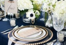 Blue Weddings / From bouquets to bridesmaids dresses, centerpieces to cakes, get tons of inspiration for a blue wedding.