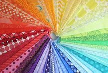 Selecting Fabrics / When selecting fabric for a quilt project we look at many factors - COLOR, Texture, Scale, Line/direction