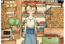 Comic Art/Illustration / by Wrenn M.