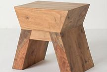 Wooden furniture / Things I love