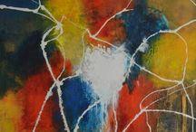 SchilderijenFenny / abstract schilderijen modern