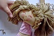 cabelos para bonecas