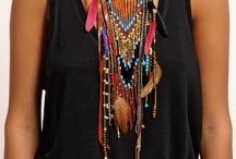 Accessorize It / Boho-chic and hippie style inspiration that would combine perfect with My Mochila by Isabelli.