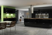 Sheraton Interiors Contemporary Kitchens / The Modern fitted kitchen has become the heart and soul of the modern family household, much more than merely a place to cook the Kitchen has morphed into a space to create, relax, and entertain guests. Whether it is a stunning gleaming gloss kitchen you are looking for your friends to envy; or mix of vivid colours and distinctive patterns Sheraton Interiors has the designs for you to make a statement.