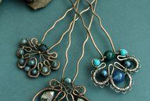 Wire jewerly: ideas