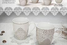 KUBKI porcelana, ceramika, new bone china