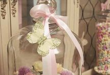 Baby shower - Pink & gold