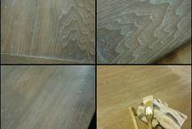Wood Finishing / Dye, Stains, Shellac, Varnish, Wax, Polyurethane and Professional Finishing
