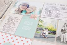My scrapbooking inspiration