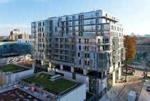 Claude Bernard / La Semaest a été sélectionnée comme opérateur unique pour la commercialisation et la gestion de tous les locaux commerciaux et d'activités en rez-de-chaussée ainsi que les bureaux situés au premier étage des quatre nouveaux immeubles de logements construits dans la ZAC Claude Bernard.