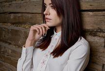 Shirts & Ties for Women - Continuity Range / Designed for KiRiVOO by Teele Koel.