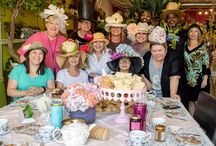 LDF Silk Tea Parties! / Our debut LDF Silk High Tea soiree. Grab your gussied up hat or come as you are, and join us at the showroom for our next tea party!  Details to follow……
