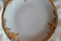 porcelana patery i talerze