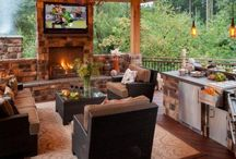 Backyard Oasis Ideas / #Outdoor inspirations for creating the #backyard #oasis of your dreams