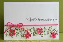 Bordering Blooms Stamp Ideas