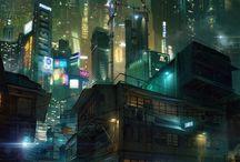 Cyberpunk & Futuristic