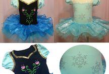 Vestidos princesas y ballet