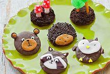 woodland animals baking