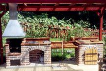 kültéri konyha - outdoor kitchen