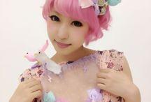 cute, fairy kei, lolita, maid