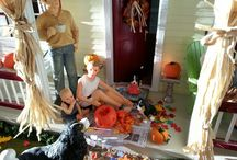 Dollhouse Autumn Scenes
