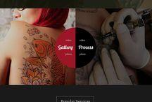 Web Design - Tatoo