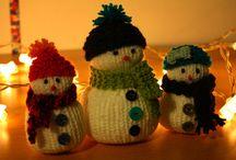 Idées tricots pour Noël